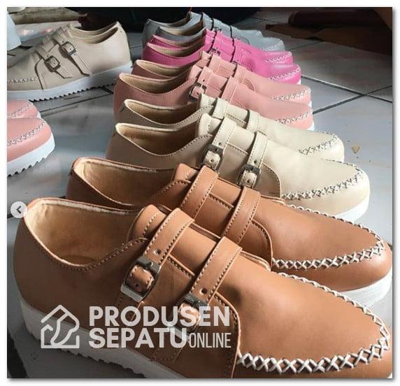 Aneka Varian Warna Sneakers Wanita Handmade Lucu