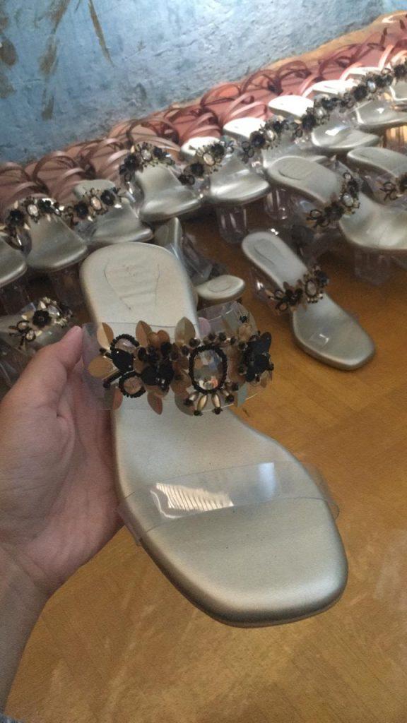 Glass Heels Cantik
