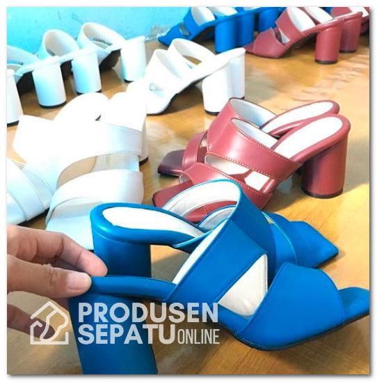 Produk Sandal Blocked Heels