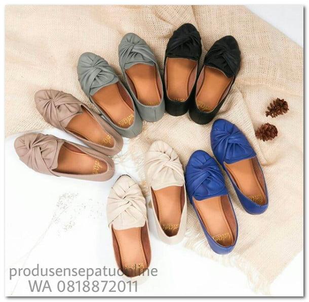 Sepatu Kerut Flatshoes