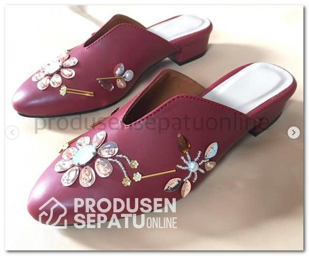 Sepatu Payet 3D Selop