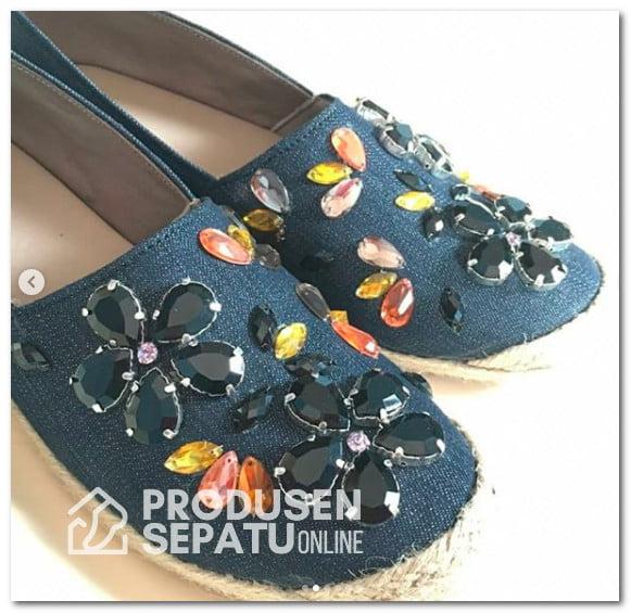 Sepatu Wanita Payet Keren