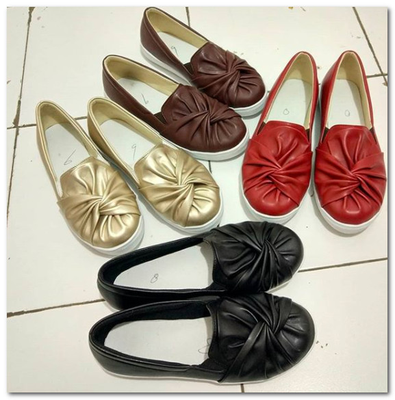 Sneakers Sol Ribbon Cewek