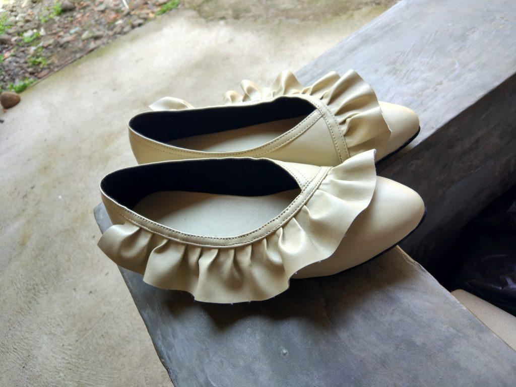 Sepatu Flatshoes Handmade Merk Sendiri