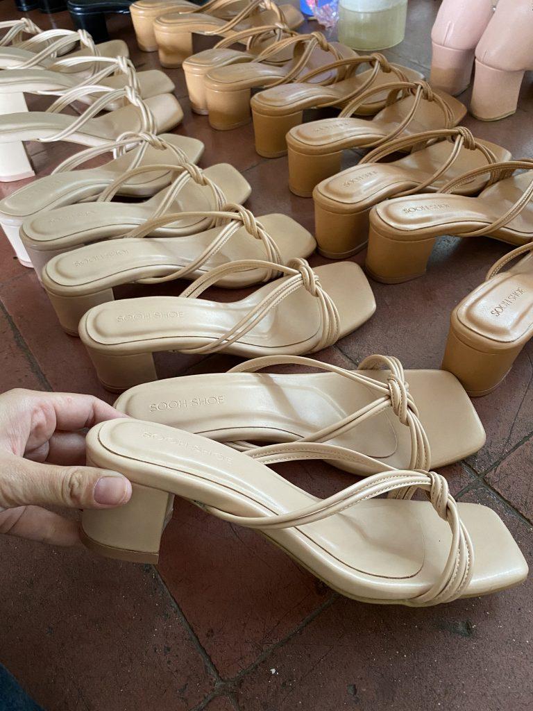 Vendor Pembuatan Sepatu Wanita