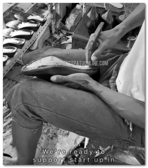 Pengrajin Sepatu Handmade di Ciomas Bogor