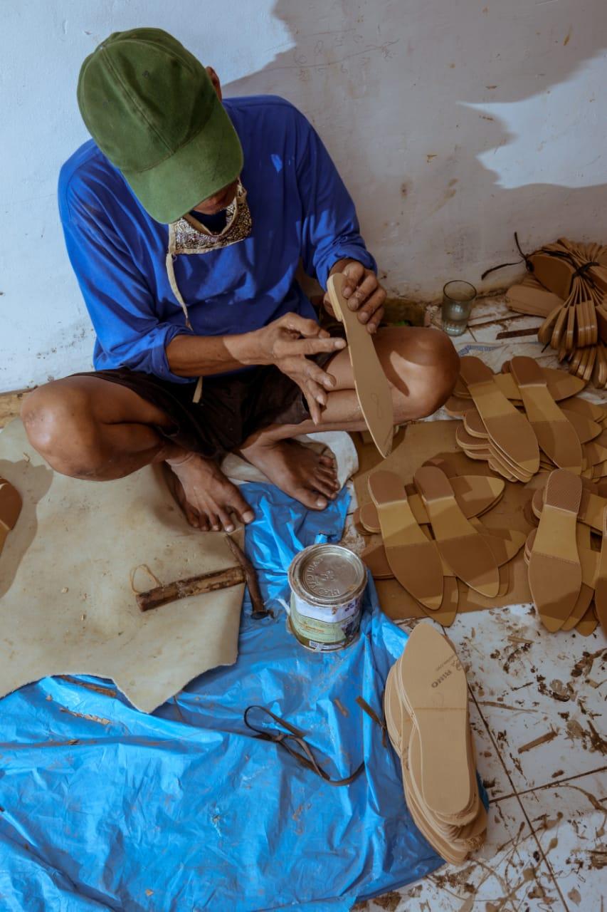 Pengrajin Sepatu Bogor